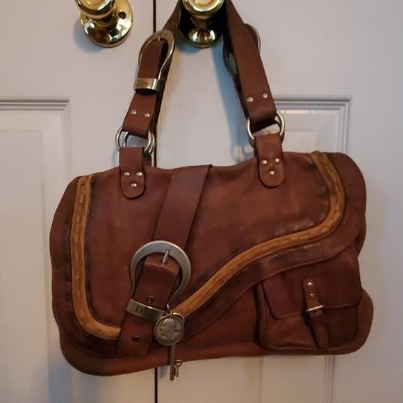 Dior Handbags - Christian Dior Gaucho Shoulder Bag